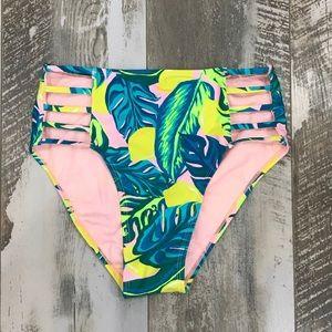 Tropical Lemon 🍋 Bikini Bottoms NWOT